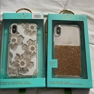 2 Kate spade phone cases